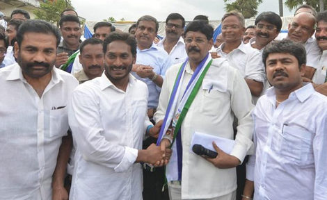 Ysrcp fire on ap cm about Prime minister tour