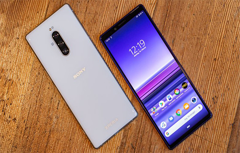 Sony Xperia 1 smartphone, launched at MWC