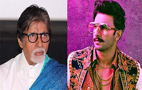 Amitabh Bachchan is a fan of Ranveer Singh's fashion