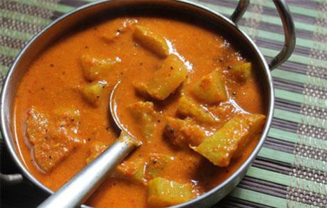 Chow Chow Kara Kulambu Recipe